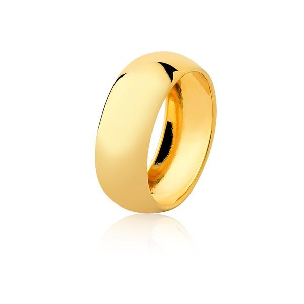Aliança Ouro Amarelo 18k (8,00mm)