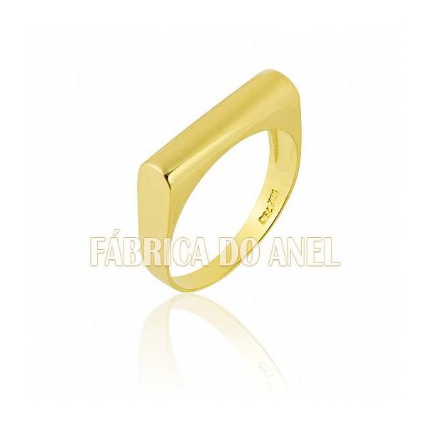Anel Unisex em Ouro Amarelo 18k 0,750 A-11