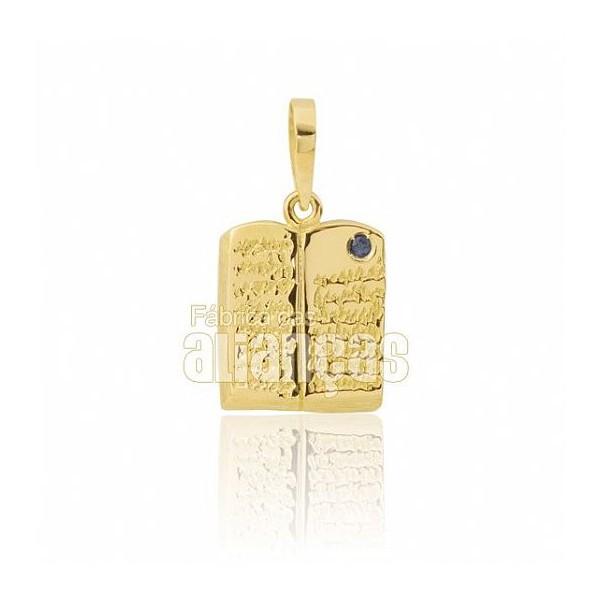 Pingente de Formatura de Pedagogia em Ouro Amarelo 18k 0,750 P-20