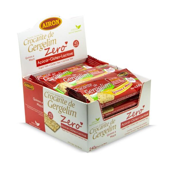 Crocante de Gergelim com Quinoa e Maçã 240g
