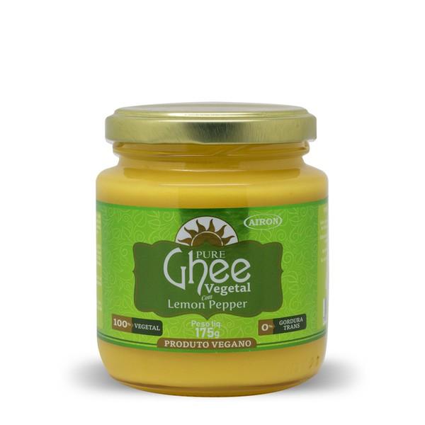 Manteiga Ghee Vegetal com Lemon Pepper