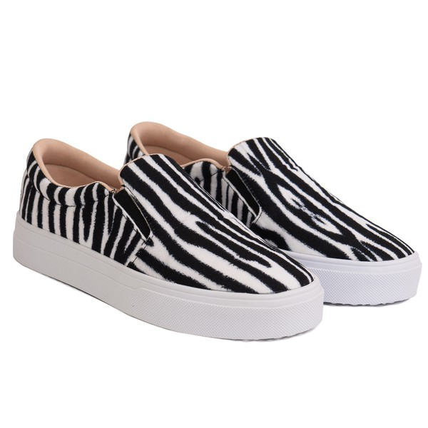Slip On São Paulo Alto - Zebra
