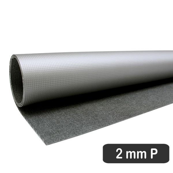 PLACA DE RESINA CARBONIUM PRATA - FLUÍDICA 2 MM (55 X 70 CM)