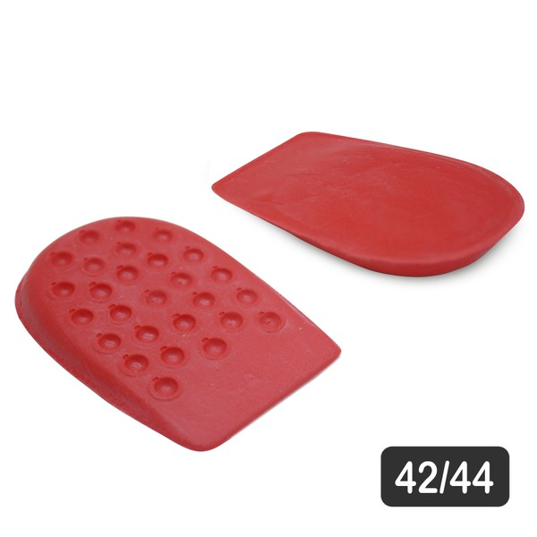 Calcanheira para conforto de Látex Vermelho 42/44 GG