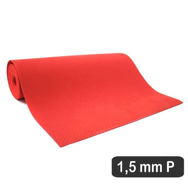 1,5 MM COBERTURA VERMELHO PERFURADO P (180 X 31 CM)