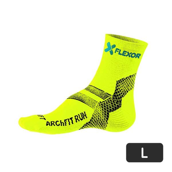 Meias Fx Sport - Fascite - Amarelo Flúor 40-43