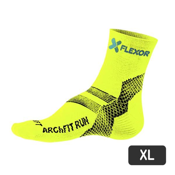 Meias Fx Sport - Fascite - Amarelo Flúor 43-46