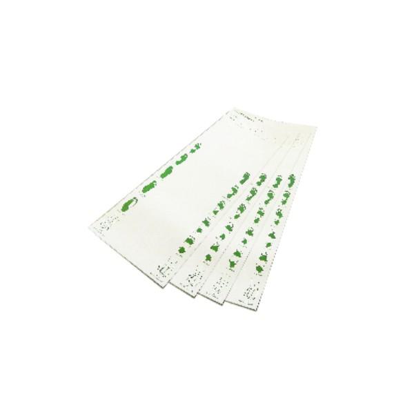 Folhas de exames - Plantigrafia - 200 folha