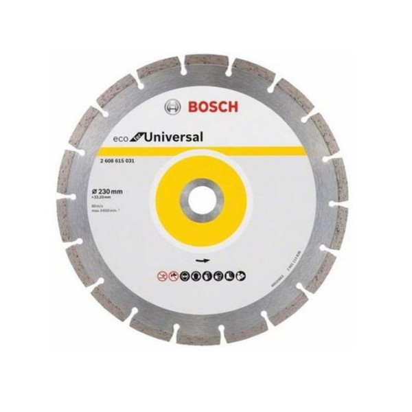 DISCO DIAMANTADO UNIVERSAL 230MM - BOSCH