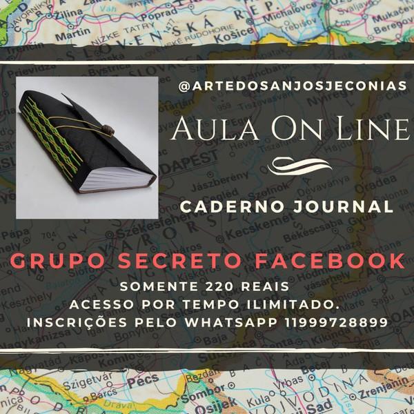 AULA ON LINE CADERNO JOURNAL
