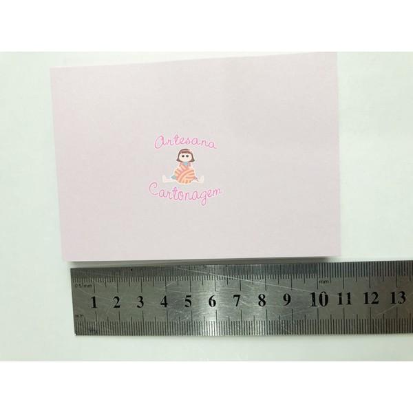 BLOQUINHO 100 FLS (A7 - 10,5 X 7,4) ROSA CLARO - 1 UNIDADE