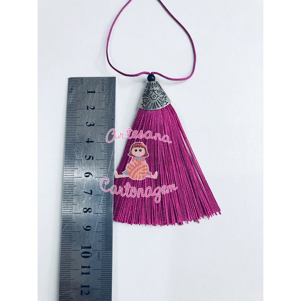 TASSEL INDIANO PINK - 1 UNIDADE