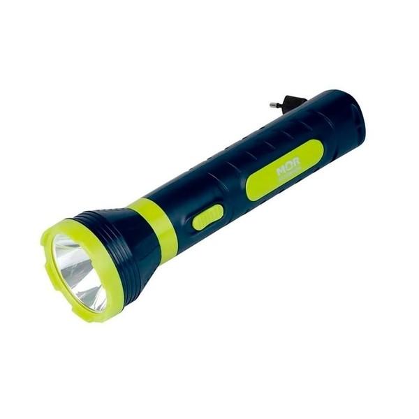 Lanterna Power Led 140 Lúmens Recarregável - MOR