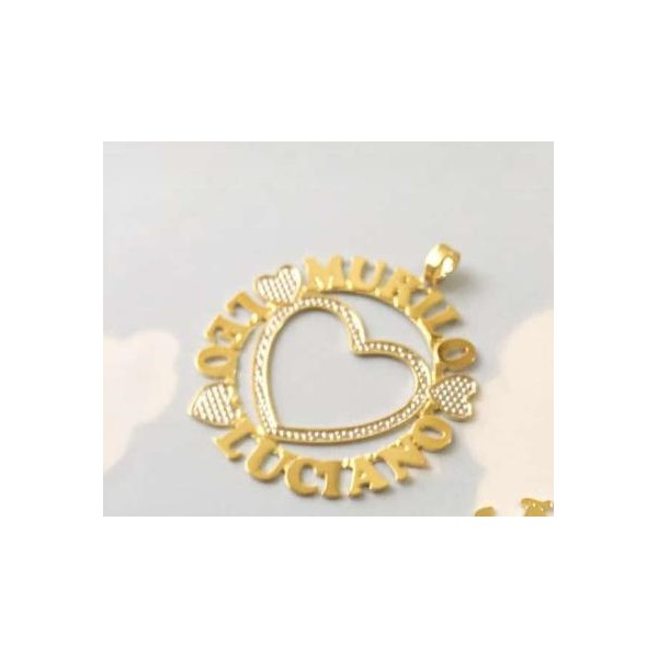 Gargantilha Mandala Simples Banhada a Ouro