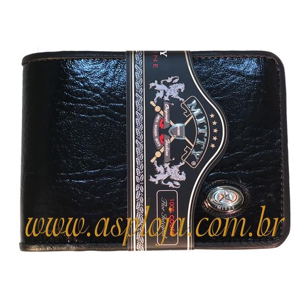 Carteira Masculina Mitty Preto - K1-LP ASP-CA-751