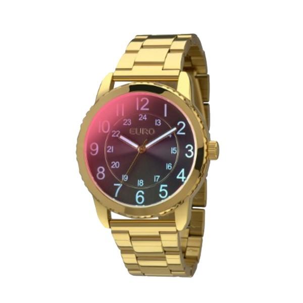Relógio Feminino Euro Linha Furta Cor Dourado - EU2035YCM/4M - ASP-RLG-2793