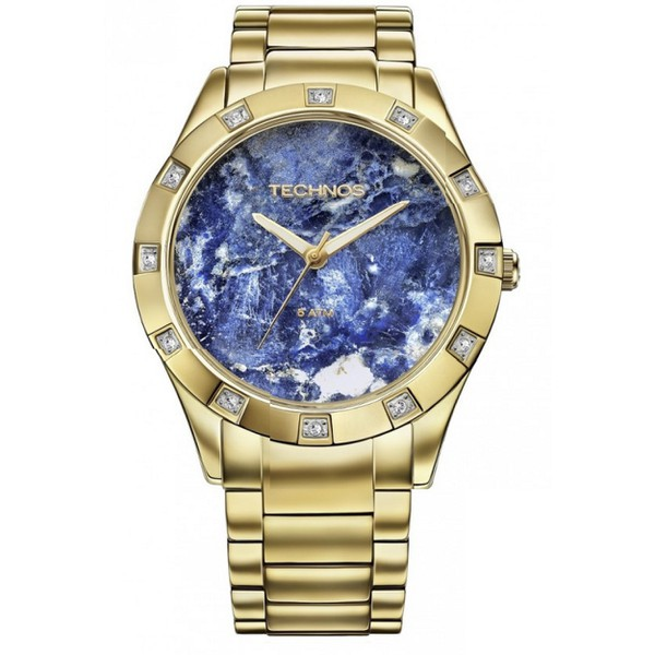 Relógio Technos Feminino Stone Collection Sodalita 2033AA/4A - ASP-RLG-2266