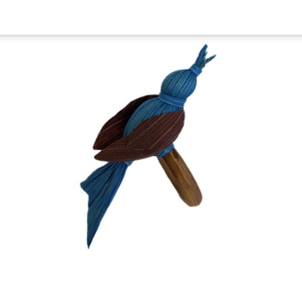 Porta guardanapo pássaro blue