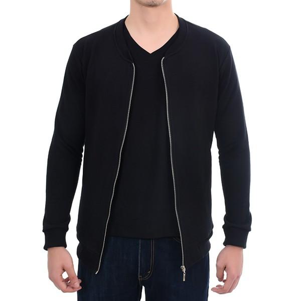 Suéter de Moletom Preto