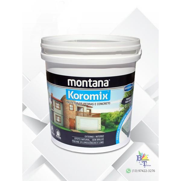 KOROMIX HIDROFUGANTE MONTANA 18L