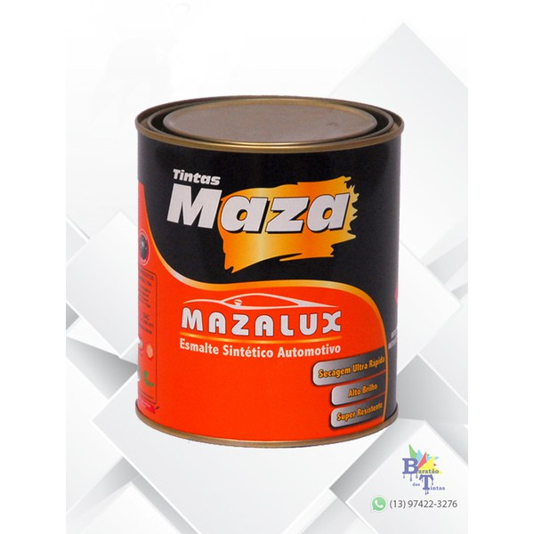 MAZA ESMALTE VERMELHO 3330 MAZALUX 900ML