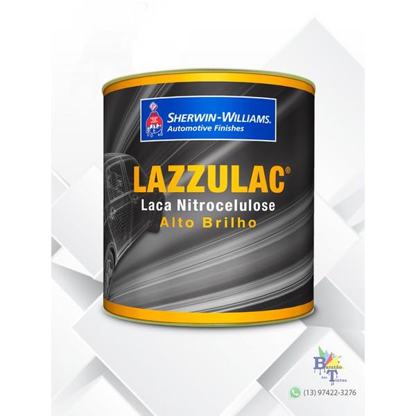 TINTA LACA NITROCELULOSE BRANCO ACABAMENTO LAZZURIL 900ML