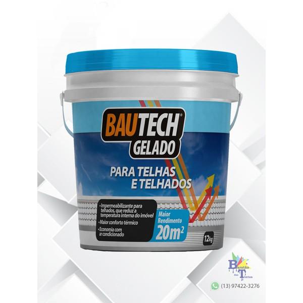 BAUTECH TELHADO GELADO 12KG