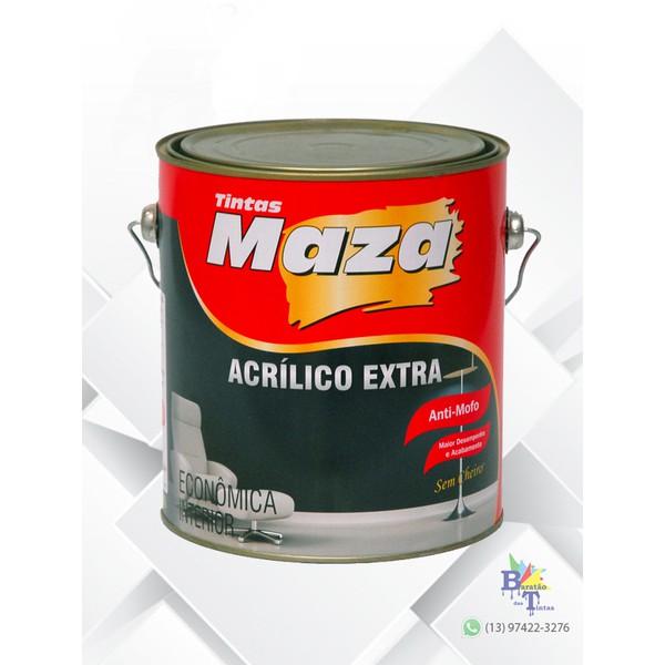 MAZA ACRÍLICO EXTRA PALHA 3,6L