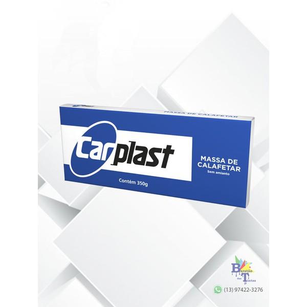 MASSA PARA CALAFETAR PRETA CARPLAST 355GR