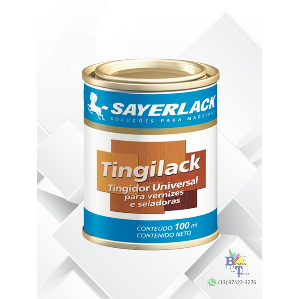 TINGIDOR PARA MADEIRA IMBUIA TINGILACK SAYERLACK 100ML