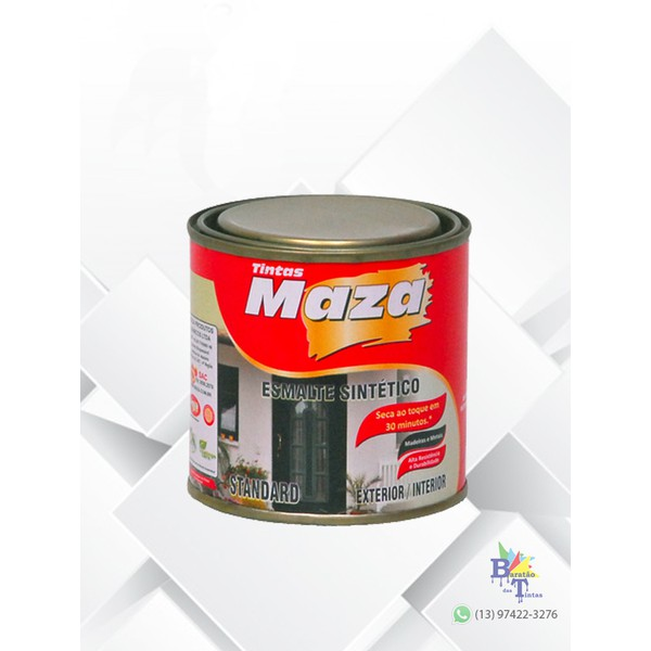 MAZA ESMALTE SINTÉTICO BRILHANTE VERDE FOLHA 225ML