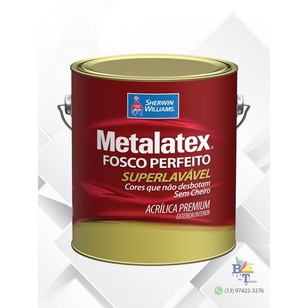 METALATEX ACRÍLICO FOSCO PERFEITO BRANCO 3,6L