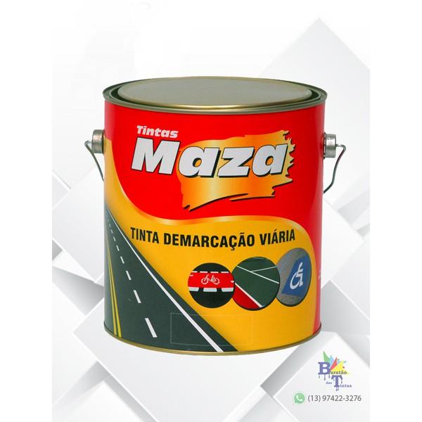 MAZA PAV DEMARCAÇÃO AMARELO 3,6L