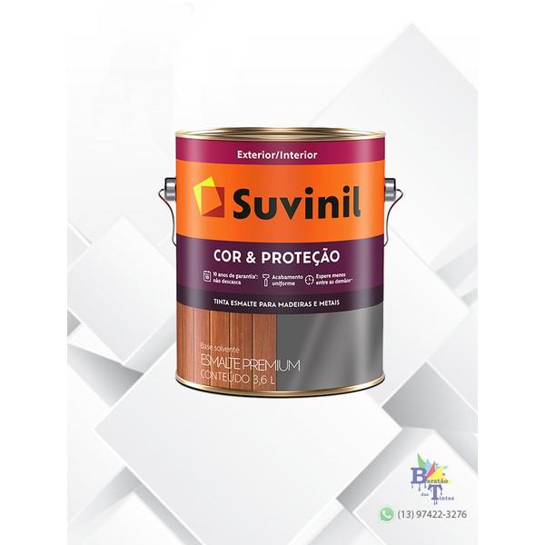 SUVINIL ESMALTE COR E PROTEÇÃO BRILHANTE AZUL DEL REY 3,6L
