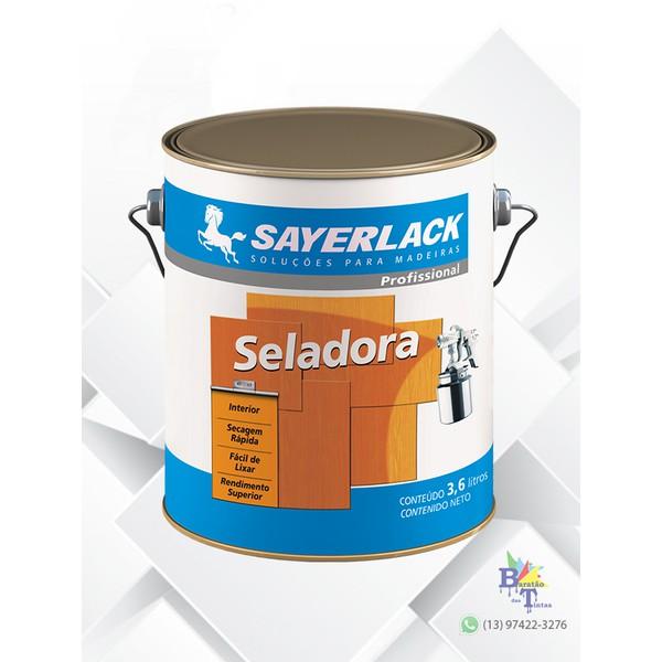 SELADORA PARA MADEIRA SAYERLACK 3,6L
