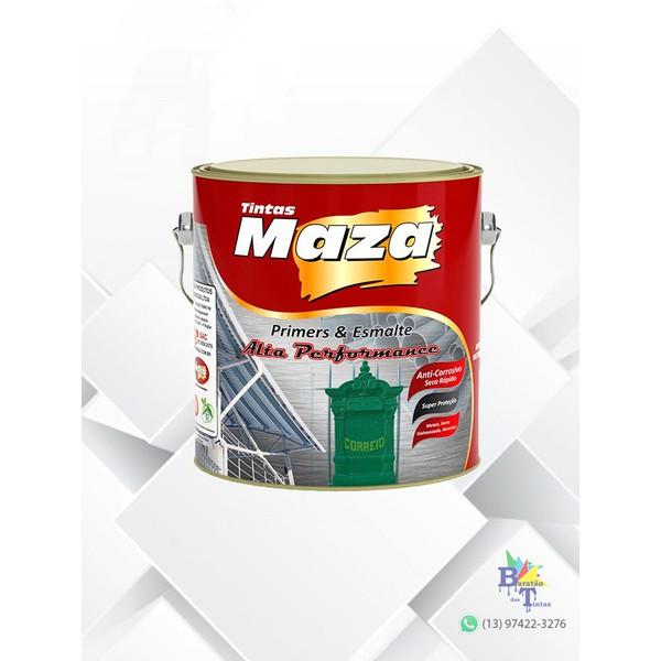MAZA ESMALTE MARTELADO VERDE BRASIL 3,6L