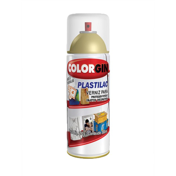 COLORGIN SPRAY PLASTILAC FOSCO 300ML