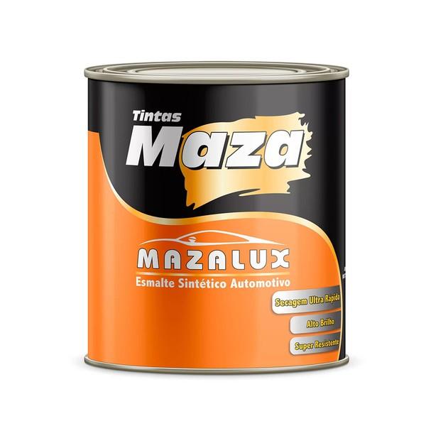 MAZA ESMALTE PRETO FOSCO MAZALUX 900ML