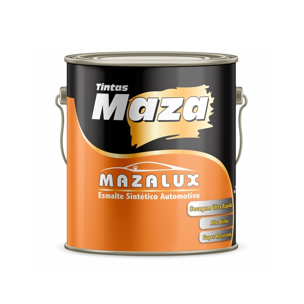 MAZA ESMALTE AMARELO CATERPILLAR MAZALUX 3,6L