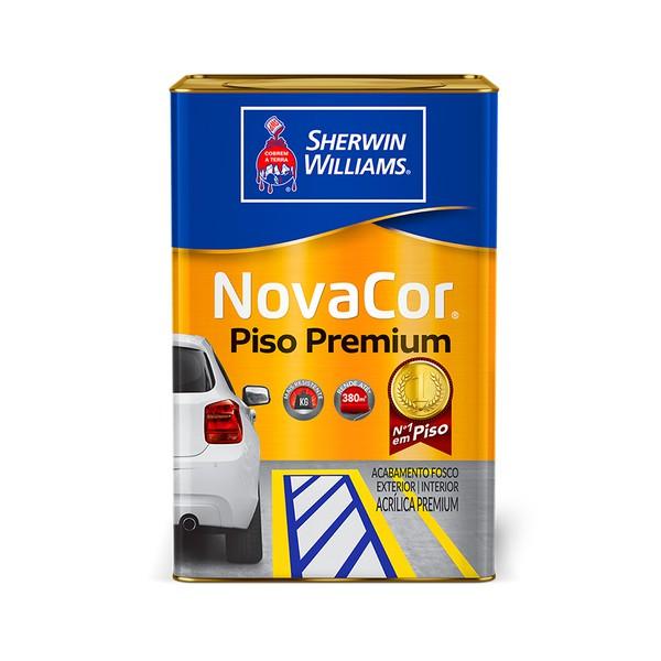 NOVACOR PISO MAIS RESISTENTE CINZA 18L