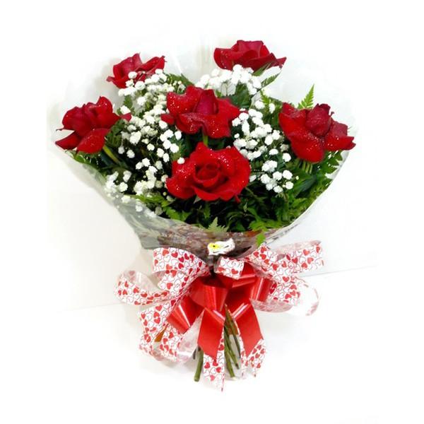 Buquê 6 Rosas (Oferta Imbativel)
