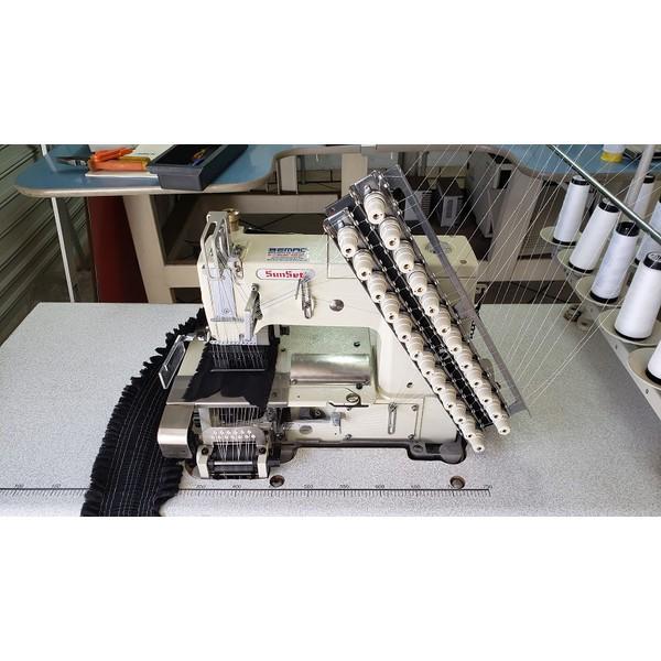Máquina de Costura Sunset 12 Agulhas para Lastex