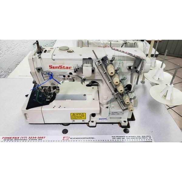 Máquina de Costura Galoneira Eletrônica Sunstar Usada