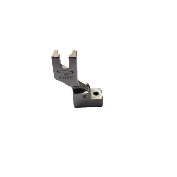 Calcador Ziper Invisivel Ferro Estreito S518N