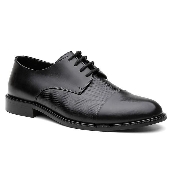 Sapato Social Alemanha Preto - Bernatoni Calçados