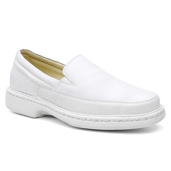 Sapato Conforto Santiago Branco - Bernatoni Calçados