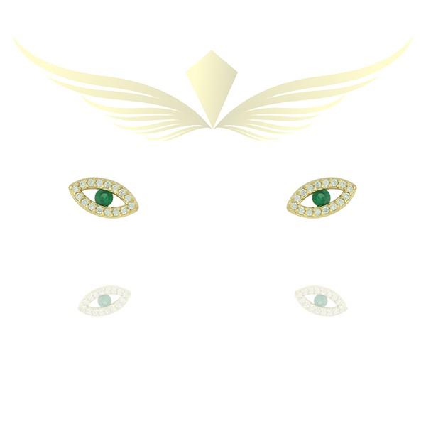 Brinco de Olho Grego EMGL