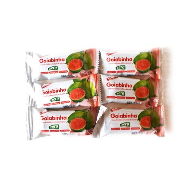 Goiabada sem Açúcar Diet Pacote com 6 Unidades