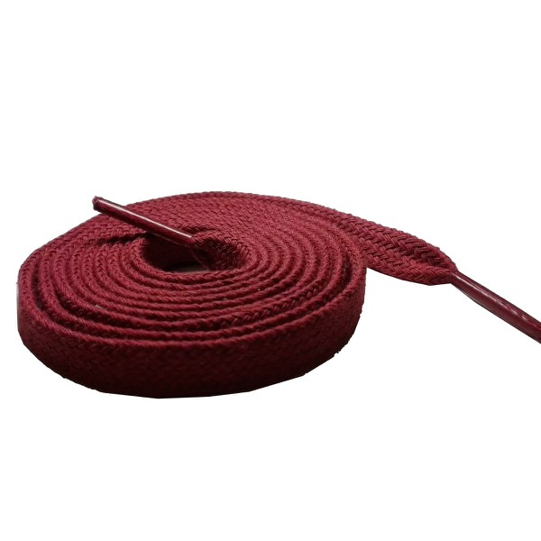 Cadarço Chato Algodão De 1,40 Cm e 10 Milímetros de Largura Vermelho