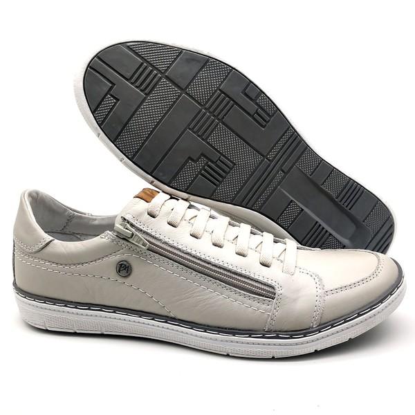 Sapatos CASUAL Masculino de Couro BMBRASIL SAPATENIS 608/15 Gelo